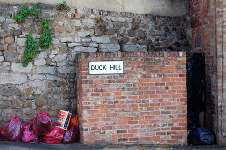 Duck Hill Brick Wall